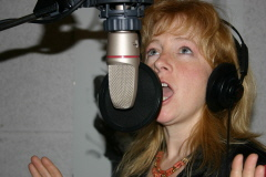 2011- Sharine in Studio